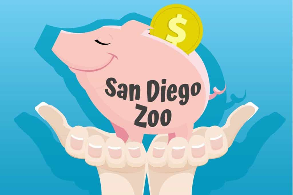 Sand Diego Zoo is cheaper than SeaWorld and kinder to your piggy bank.