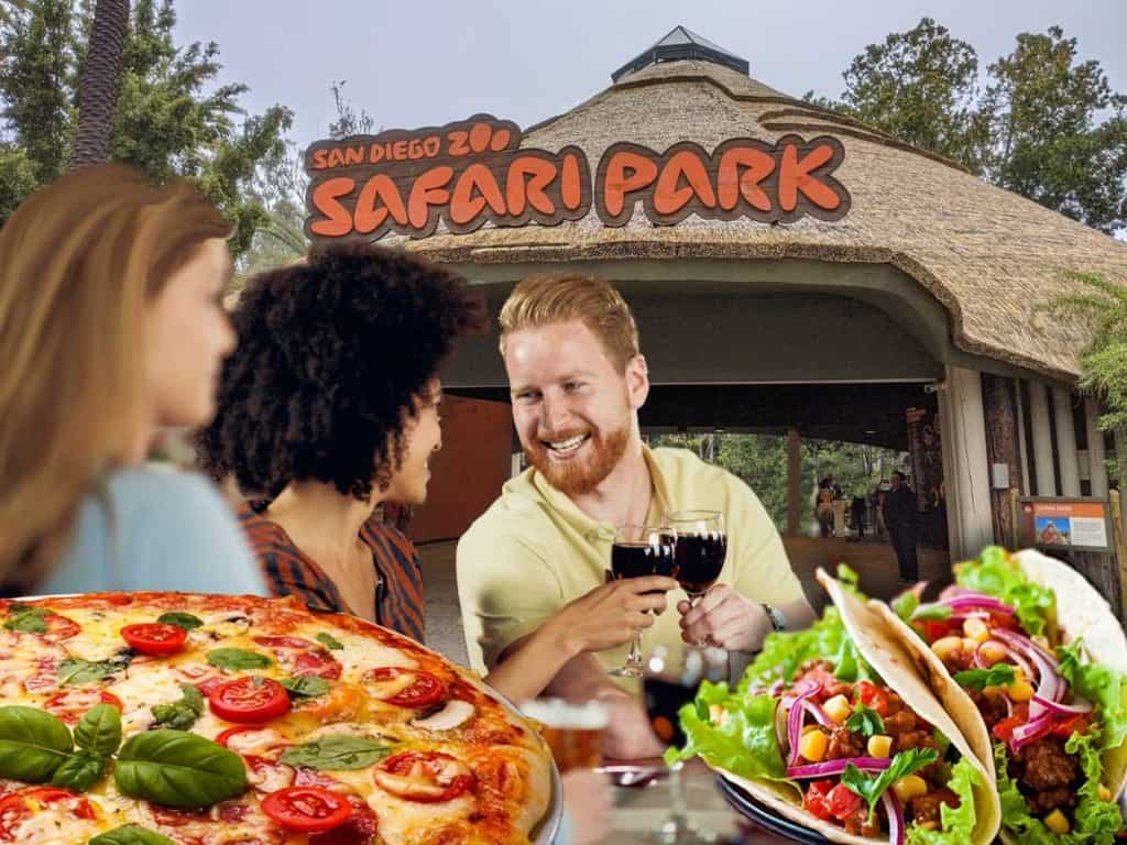 Where's the best places to eat in San Diego Safari Park?