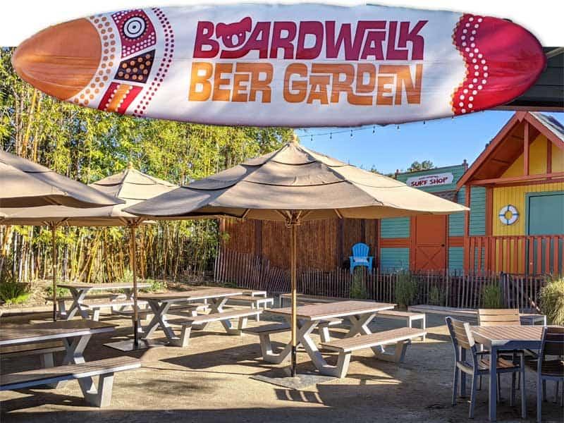 Boardwalk Beer Garden at the San Diego Zoo