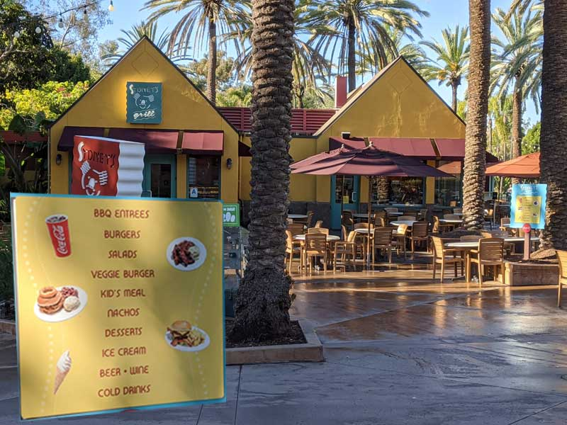 Sydney's Grill at the San Diego Zoo
