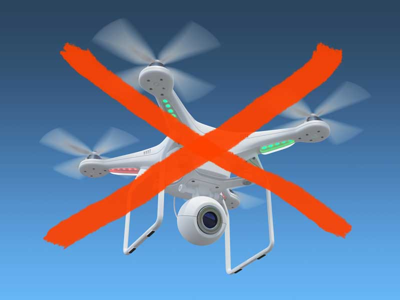 Drones are not allowed in San Diego Zoo