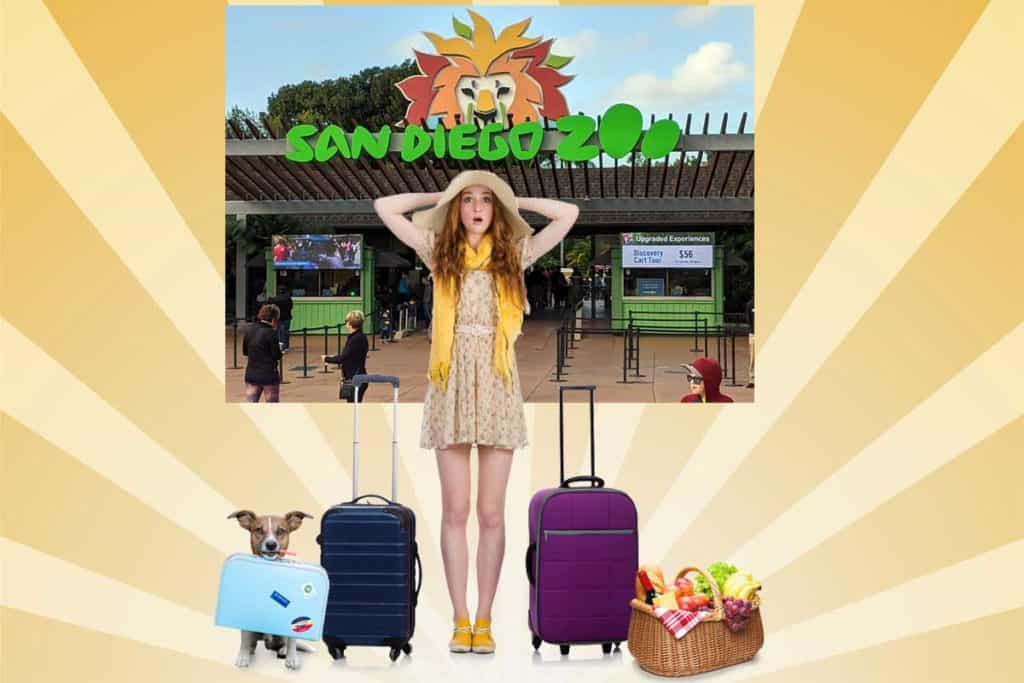 What can you bring into the San Diego Zoo? Food, drink, luggage, pets