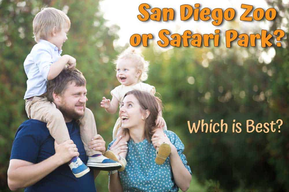 San Diego Zoo vs Safari Park. Which is better to visit with toddlers?