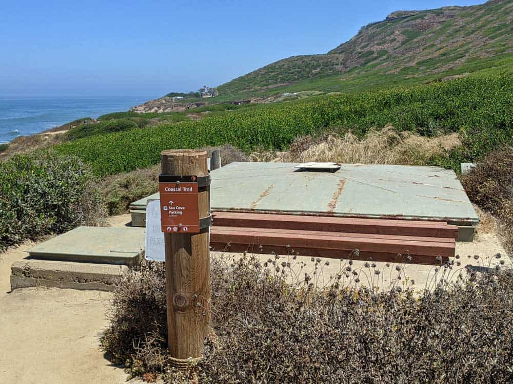Bunker site at Cabrillo National Monument