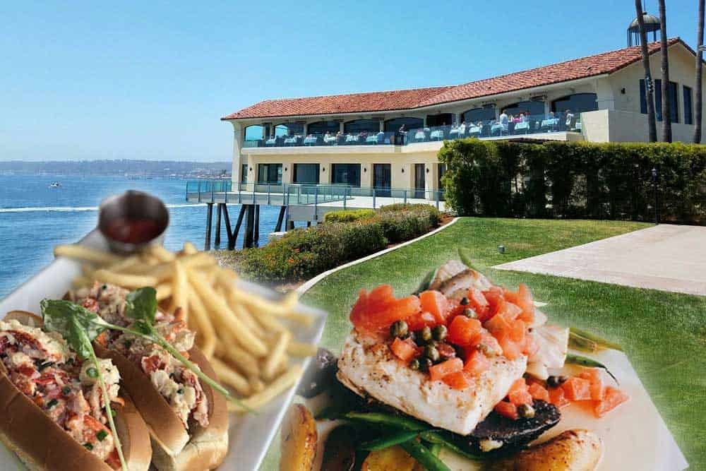 Tom Ham's Lighthouse is one of the best restaurants around Cabrillo National Monument. Favorite dishes are their Lobster Roll Sandwich and Market Fish plate.